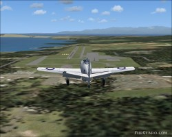 FS2004/FSX CA-19 Experimental fighter image 2
