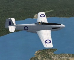 FS2004/FSX CA-19 Experimental fighter image 3