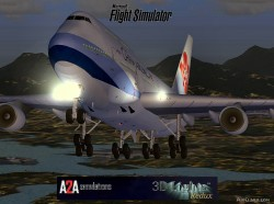 FSX Boeing 747-400 China airlines Original image 1
