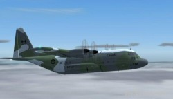 Fs2004 Canadian Armed Forces Herc Package C-130h image 1