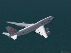 Boeing 747-8 China Airlines image 1