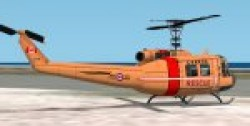FS2002 Bell Uh-1h Huey Canadian Rescue image 1