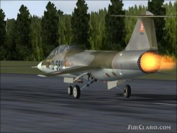 FS2004 repaint Dutch TF-104G D-5804 and image 1