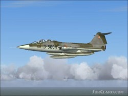 FS2004 repaint Dutch TF-104G D-5804 and image 2