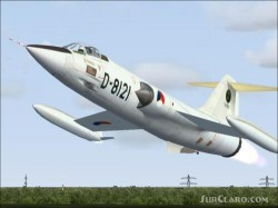 FS2004 repaint Dutch TF-104G D-5804 and image 3
