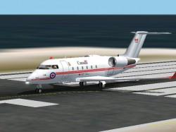 FS2002 Canadian Forces Cc-144 Challenger image 1
