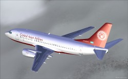 FS2004 CENTRAL ASIAN AIRLINES BOEING 737-500 image 1