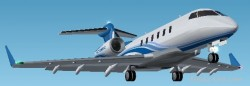 Fs2002 Bombardier Challenger 300 image 1