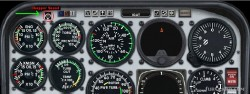 Fs2004 Helicopter Dynamic Rotor Sound Gauge image 1