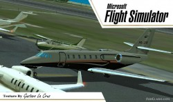 Fs2004 Cessna Citation Sovereign PR-SPR Beta image 1