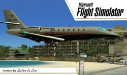Fs2004 Cessna Citation Sovereign PR-SPR Beta image 2