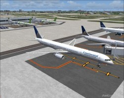 Continental Airlines pluss AI traffic image 1