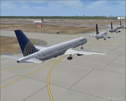 Continental Airlines pluss AI traffic image 2