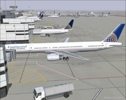 > Continental Airlines pluss AI traffic image 1