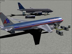 > Continental Airlines pluss AI traffic image 2