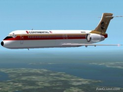 FS2002 - Nathan Tenneys B717 Continental image 1