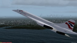 FSX Concorde Aircraft with Virtual Cockpit image 4