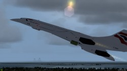 FSX Concorde Aircraft with Virtual Cockpit image 5