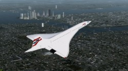 FSX Concorde Aircraft with Virtual Cockpit image 3
