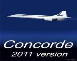 CONCORDE FSX and FS2004 NEW VERSION 2011 image 2