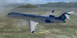 Genf Airlines Bombadier CRJ 700 Textures image 1