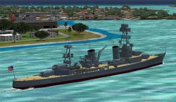 FS2004 Features Pilotable Heavy Cruiser USS image 2