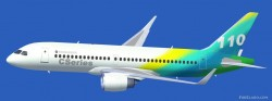FSX Bombardier CSeries 110 standard version and image 1