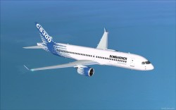 FSX Bombardier House Colors CSeries CS300 V2 image 1