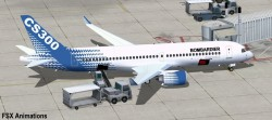 FSX Bombardier House Colors CSeries CS300 V2 image 2