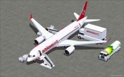 FSX AtlasJet CSeries CS300 V3 image 1