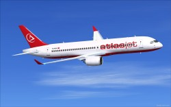 FSX AtlasJet CSeries CS300 V3 image 3