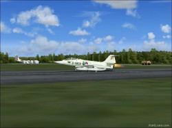 FS2004 repaint Grey Dutch TF-104G D-5809 image 3
