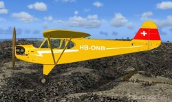 FS2004 Piper L-4H HB-ONB Real livery one image 1