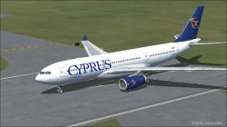 FSX Cyprus Airways Airbus A330-200 image 1