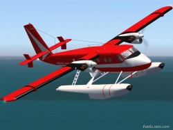 Fs2002 dehavilland dhc6-100 twin sea otter image 1