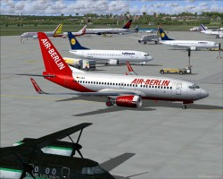 SyriaAcex AirBerlin B737-700 image 1