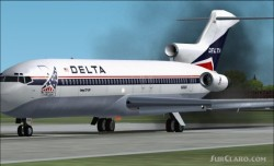 Fs2002/2004 delta boeing 727-225a image 1