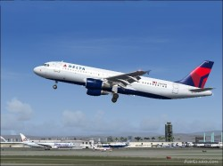 Delta Air Lines Airbus A320-212 Reg N345NW image 2