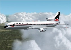 Fs2002/2004 delta airlines l-1011-100. image 1