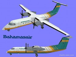 FS2004 - Bahamasair-2 Textures exclusively image 1