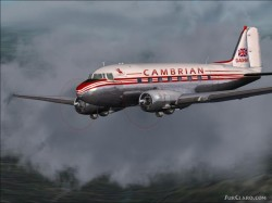 Fs2002 Douglas Dc-3 Cambrian Airways 2 image 1