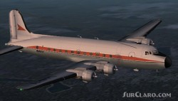 Fs2002 Brooks Air Fuel Douglas Dc-4 Freighter image 1