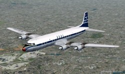 Fs2004 Boac Dc-7c And Dc-7cf image 1