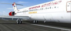 FS2004 Aserca Airlines Douglas DC-9-31 image 1