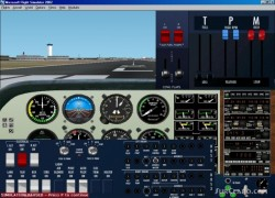 Fs2002 Beechcraft Duchess be-76 Panel image 1