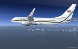 737-8U3 BBJ2 Republik Indonesia image 10