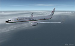 737-8U3 BBJ2 Republik Indonesia image 2