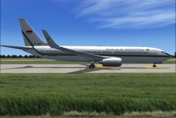 737-8U3 BBJ2 Republik Indonesia image 3
