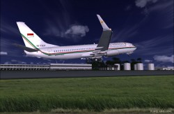 737-8U3 BBJ2 Republik Indonesia image 4