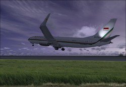 737-8U3 BBJ2 Republik Indonesia image 7